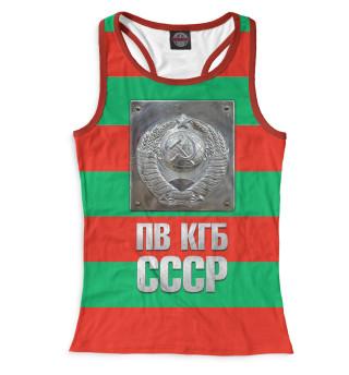 Майка борцовка женская ПВ КГБ