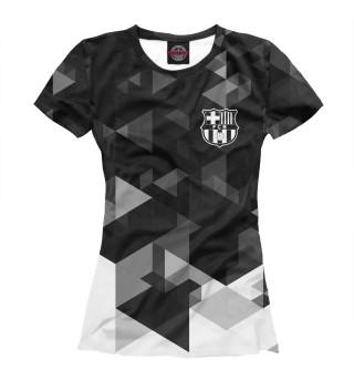 Футболка женская Барселона (5939)