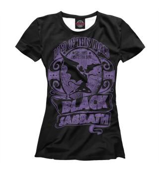 Футболка женская Black Sabbath (8645)