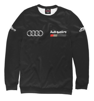 Одежда с принтом Audi Quattro