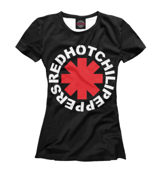 Футболка женская Red Hot Chili Peppers