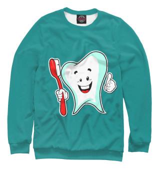 Одежда с принтом Стоматолог