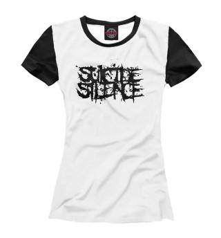 Футболка женская Suicide Silence (9175)