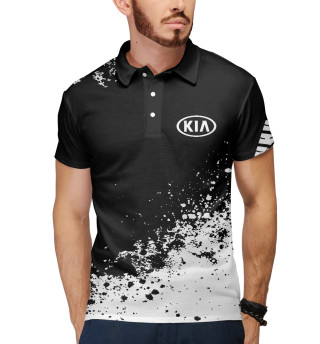 Поло мужское Kia abstract sport uniform