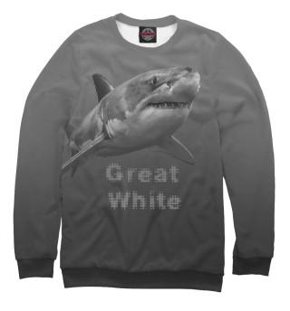 Одежда с принтом Great White