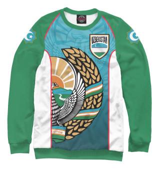 Одежда с принтом Узбекистан (580051)