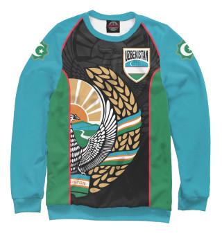 Одежда с принтом Узбекистан (426087)