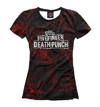 Футболка женская Five Finger Death Punch (3525)