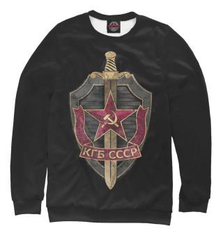 Одежда с принтом КГБ СССР