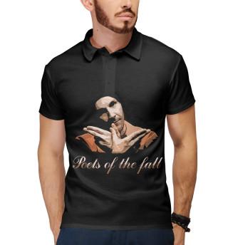 Поло мужское Poets of the Fall (7760)