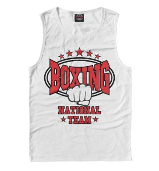 Майка мужская Boxing National Team (8504)