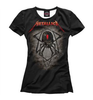 Футболка женская Metallica Band (4366)