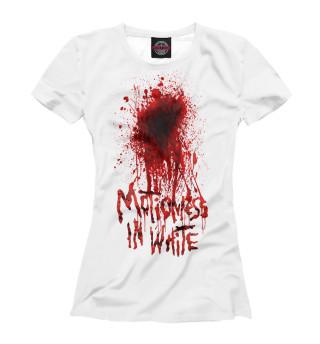 Футболка женская Motionless In White (4606)