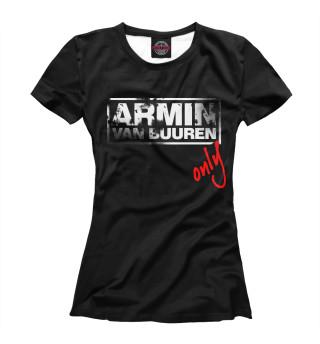 Футболка женская Armin Van Buuren