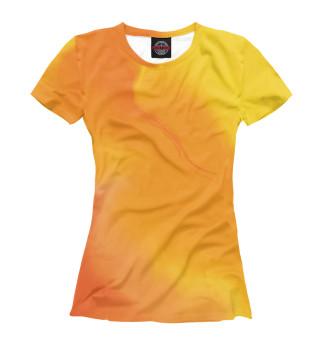 Футболка женская Желтый колор