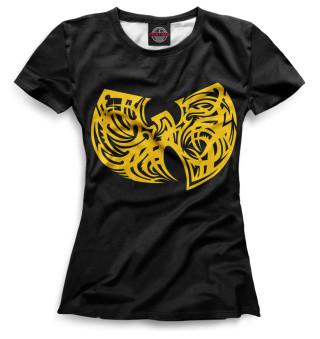 Футболка женская Wu-Tang Clan (5678)