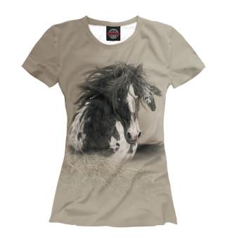 Футболка женская Horse the Beauty