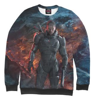 Одежда с принтом Mass Effect 3