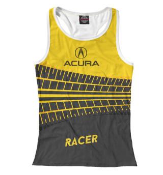 Майка борцовка женская Acura racer