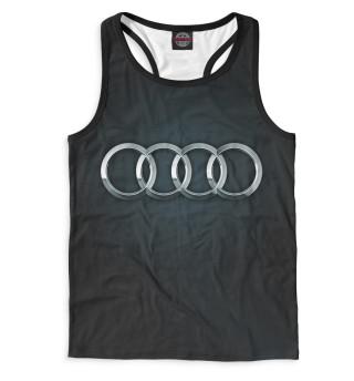Майка борцовка мужская Audi (9870)