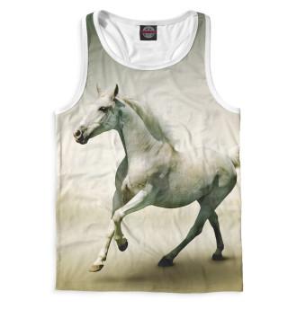 Майка борцовка мужская Лошади (4443)