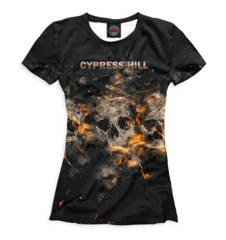 Футболка женская Cypress Hill (7395)