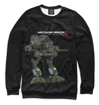 Одежда с принтом Mechwarrior 5