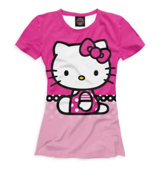 Футболка женская Hello Kitty (8557)