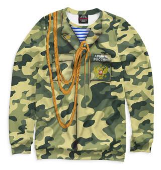 Одежда с принтом Армия России (996408)