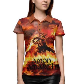 Поло женское Amon Amarth