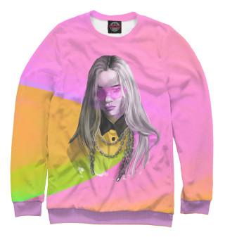 Одежда с принтом Colors Billie Eilish