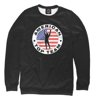 Одежда с принтом American Top Team black