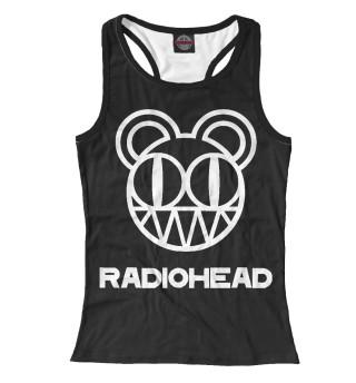 Майка борцовка женская Radiohead (2972)