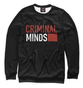 Одежда с принтом Мыслить как преступник (798098)