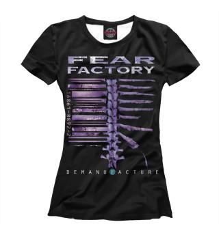 Футболка женская Fear Factory (6279)