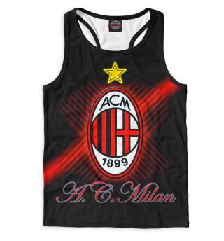 Майка борцовка мужская AC Milan (9438)