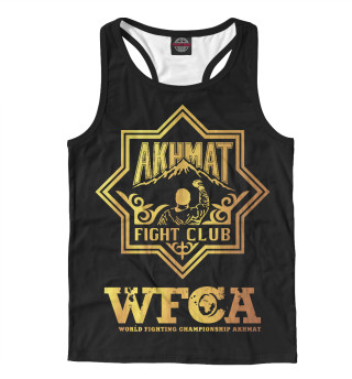 Майка борцовка мужская Akhmat Fight Club WFCA