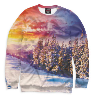 Одежда с принтом Зима