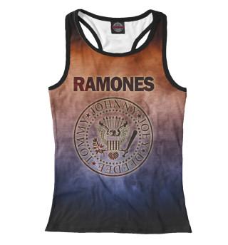 Майка борцовка женская Ramones (8618)