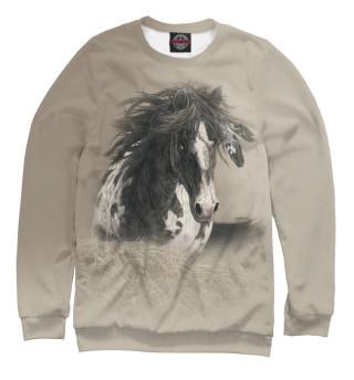 Одежда с принтом Horse the Beauty