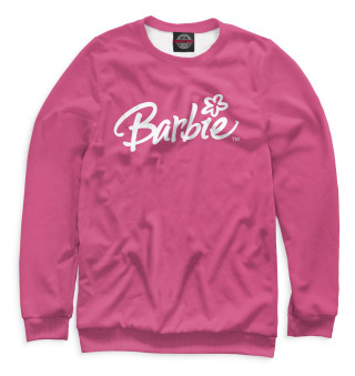 Одежда с принтом Надпись Barbie