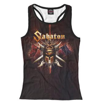 Майка борцовка женская Sabaton (2552)