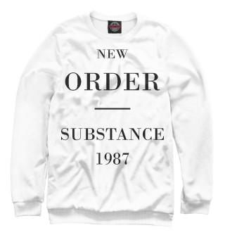 Одежда с принтом New Order