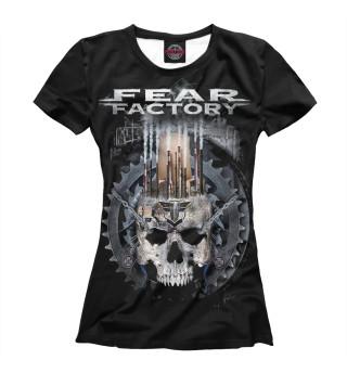 Футболка женская Fear Factory (314)