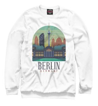 Одежда с принтом Berlin