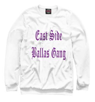 Одежда с принтом GTA SA. East Side Ballas Gang