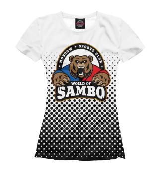 Футболка женская World of Sambо