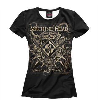Футболка женская Machine Head (9558)