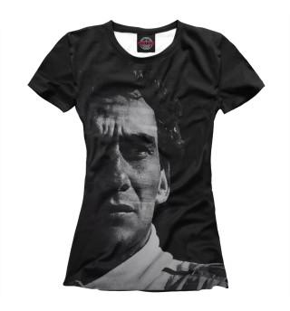 Футболка женская Ayrton Senna