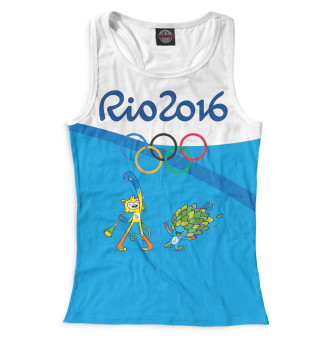 Майка борцовка женская Олимпиада Рио-2016 (9708)